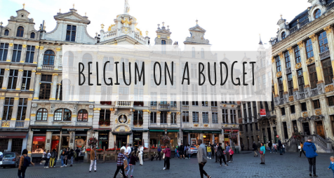 The cheapest way to explore Brussels and around