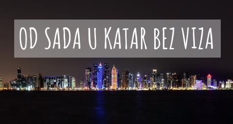 Katar omogućio ulazak Srbima u državu bez viza