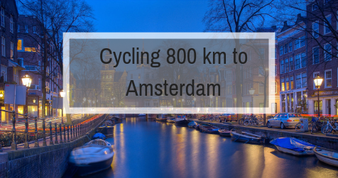A story of cycling 800 km from Berlin to Amsterdam